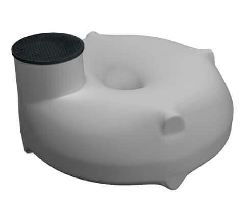 Podzemní plastové nádrže - typ TD (horizontální)