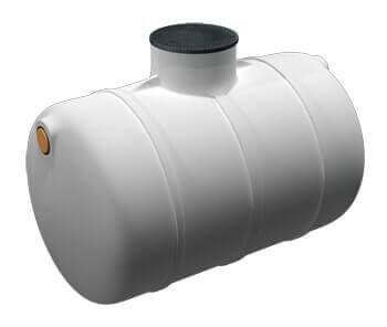 Podzemní plastové nádrže - typ TH (horizontální, ležaté)